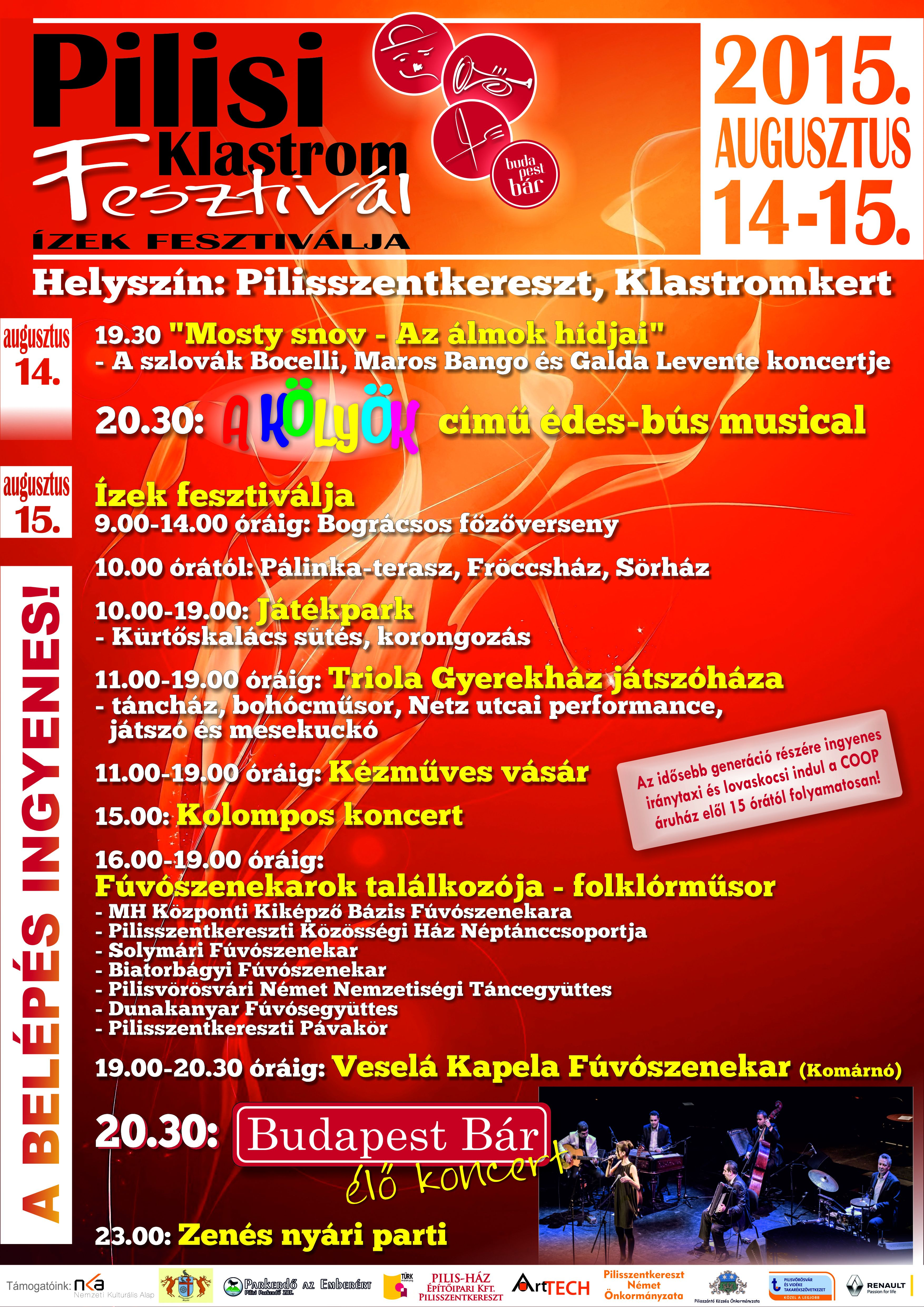Klastrom fesztivál 2015