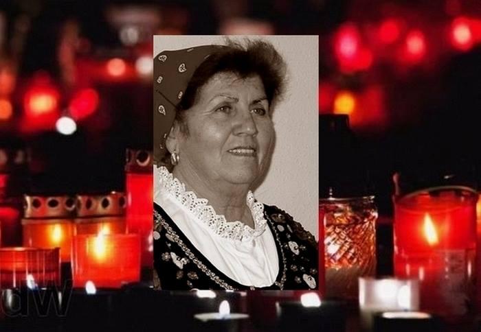 Molnár Andrásné Gizi néni 1932-2016.