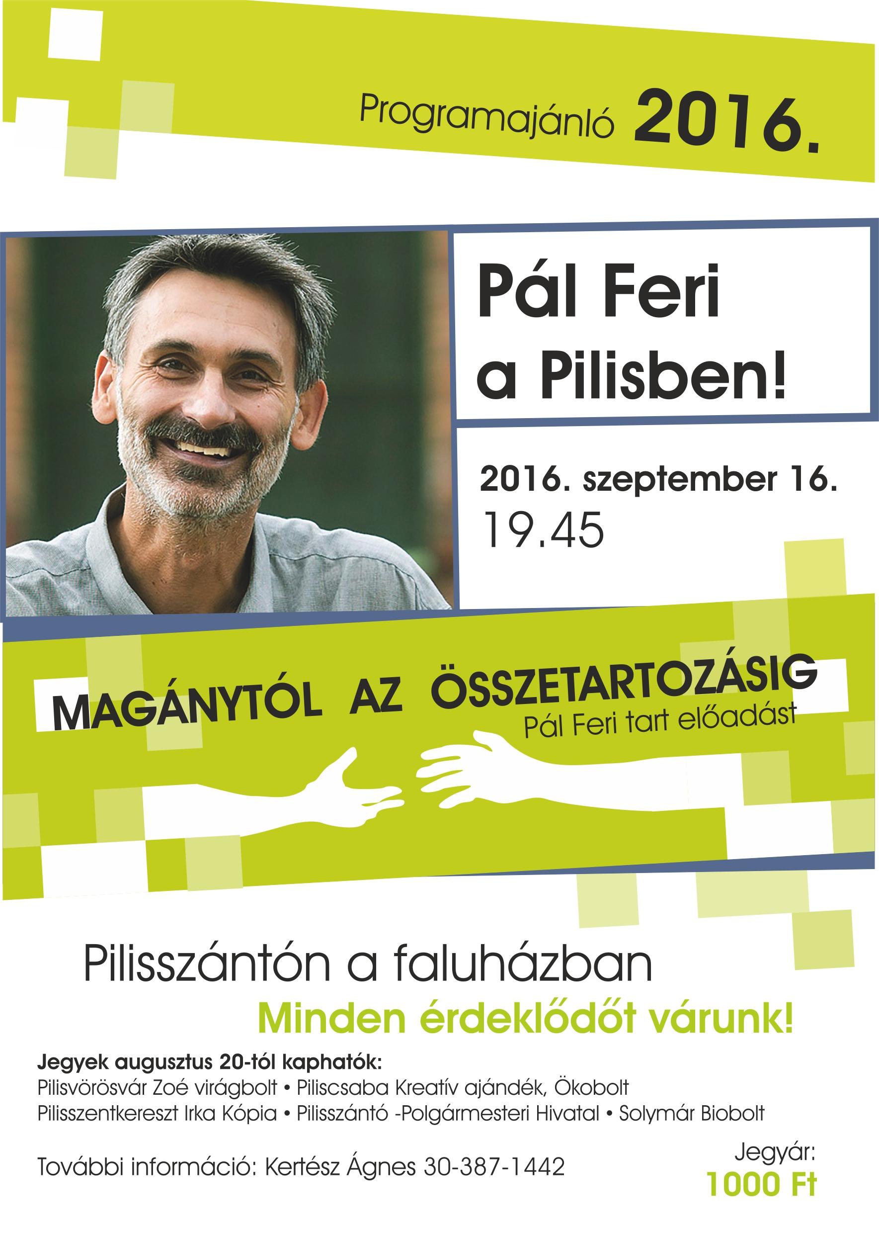 Pál Ferenc előadás