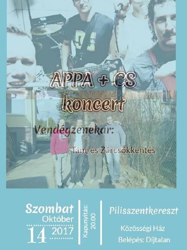 APPA+cs koncert 10.14.