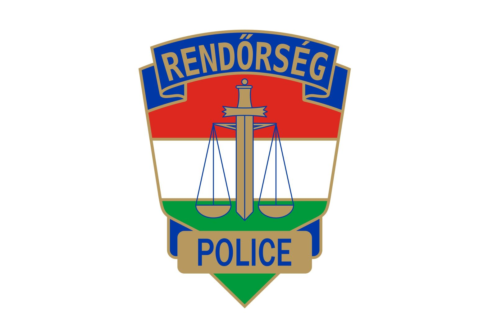 rendőrség címer