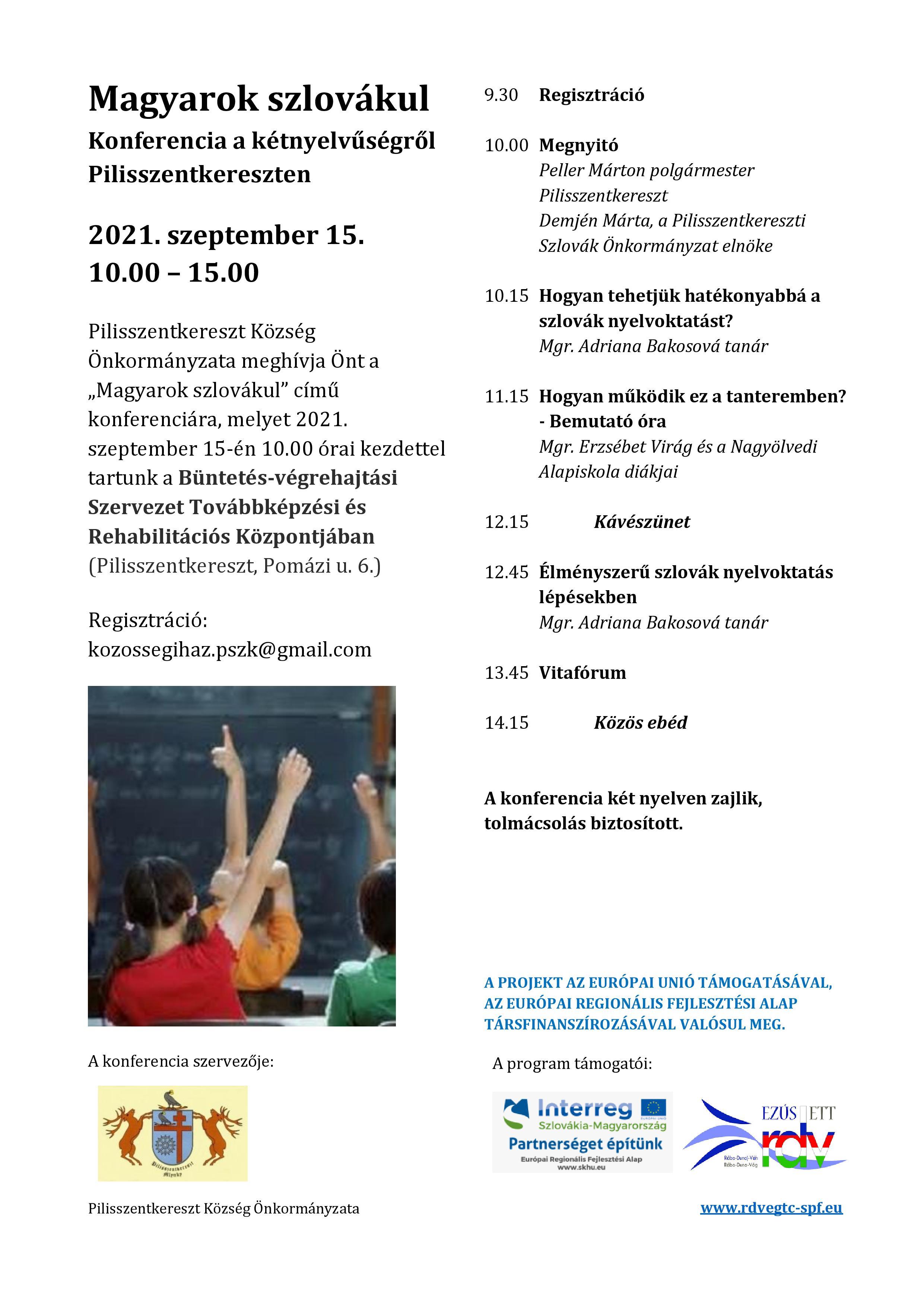 Magyarok szlovákul - Konferencia